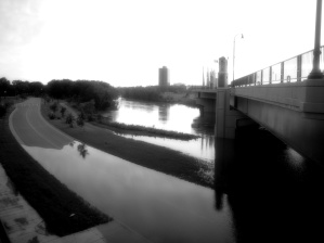 The Red River at high water (2011)